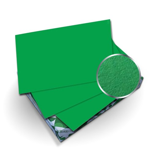 "Neenah Paper Astrobrights Gamma Green 8.5"" x 11"" Covers With Windows - 50 Sets (MYABC8.5X11GGW) Image 1"