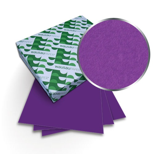 "Neenah Paper Astrobrights Gravity Grape 11"" x 17"" 65lb Covers - 50pk (MYABC11X17GVG) Image 1"