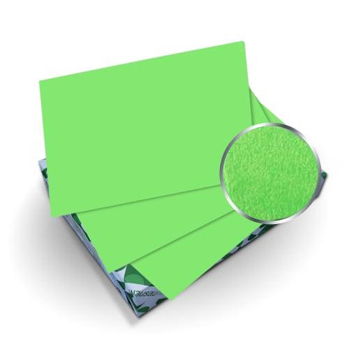 "Neenah Paper Astrobrights Martian Green 5.5"" x 8.5"" 65lb Cover - 50pk (MYABC5.5X8.5MG), Neenah Paper brand Image 1"