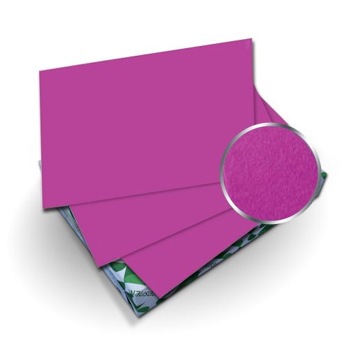 "Neenah Paper Astrobrights Planetary Purple 8.5"" x 11"" Covers With Windows - 50 Sets (MYABC8.5X11PLPUW) Image 1"