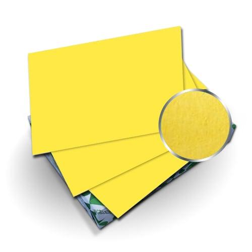 "Neenah Paper Astrobrights Sunburst Yellow 8.5"" x 11"" 65lb Cover - 50pk (MYABC8.5X11SBY) Image 1"