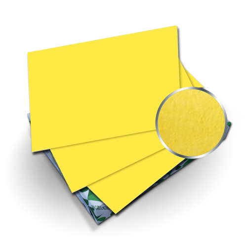 "Neenah Paper Astrobrights Sunburst Yellow 8.75"" x 11.25"" Covers w Windows - 50 Sets (MYABC8.75X11.25SBYW), Neenah Paper brand Image 1"