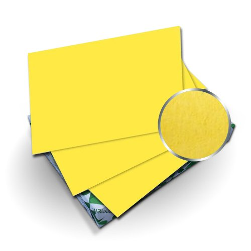 "Neenah Paper Astrobrights Sunburst Yellow 9"" x 11"" 65lb Cover With Windows - 50 Sets (MYABC9X11SBYW), Neenah Paper brand Image 1"