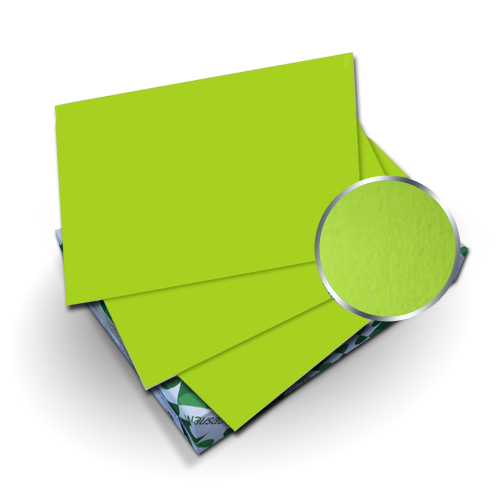 "Neenah Paper Astrobrights Terra Green 8.75"" x 11.25"" Covers With Windows - 50 Sets (MYABC8.75X11.25TGW) Image 1"