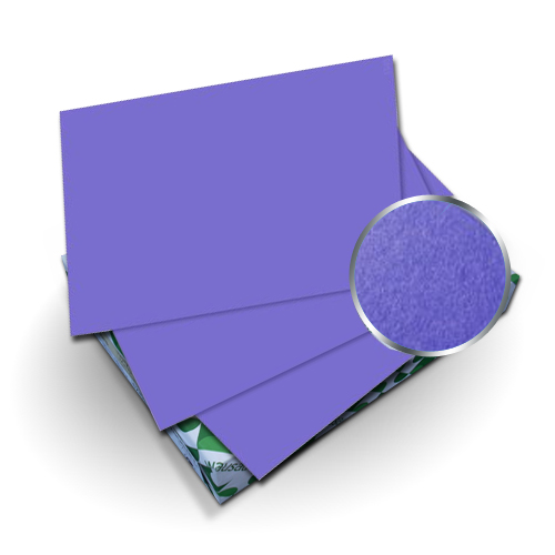 "Neenah Paper Astrobrights Venus Violet 8.75"" x 11.25"" Covers With Windows - 50 Sets (MYABC8.75X11.25VVW) Image 1"
