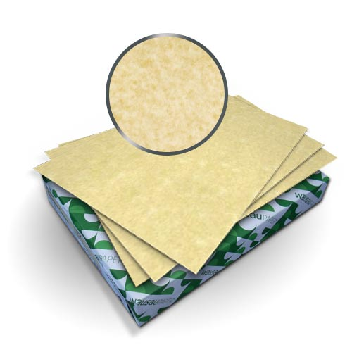 "Neenah Paper Astroparche Ancient Gold 5.5"" x 8.5"" 65lb Cover - 50pk (MYAPC5.5X8.5AG) Image 1"
