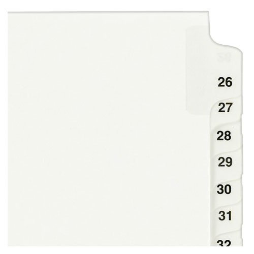 Avery Legal Index Dividers