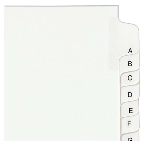 "Avery A-Z Legal 11"" x 8.5"" Allstate Style Collated Dividers (AVE-01700) Image 1"