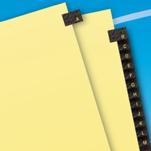 Tabs for Paper Template Image 1