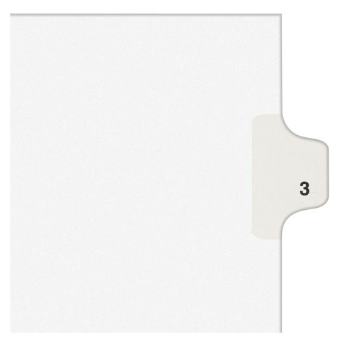 Avery 3 Numbered Index Dividers Image 1