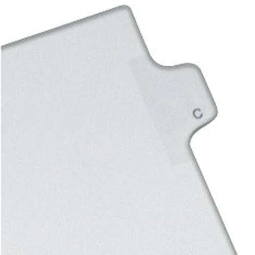 Avery C Individual Legal Index Allstate Style Dividers 25pk (AVE-82165) - $1.76 Image 1