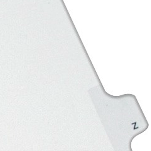 Avery Z Individual Legal Index Allstate Style Dividers 25pk (AVE-82188) - $2.75 Image 1