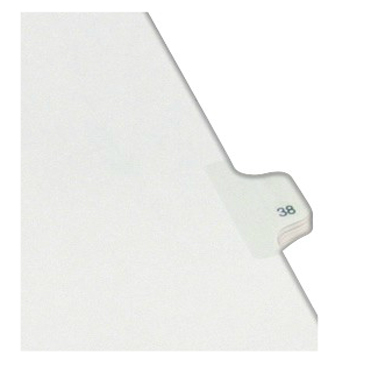 Avery 38 Individual Number Legal Index Allstate Style Dividers 25pk (AVE-82236) - $1.89 Image 1