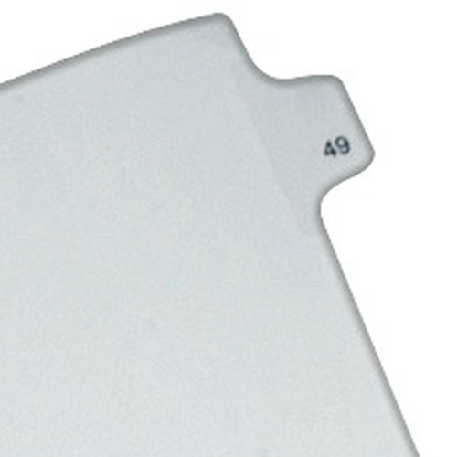Avery 49 Individual Number Legal Index Allstate Style Dividers 25pk (AVE-82247) - $1.89 Image 1