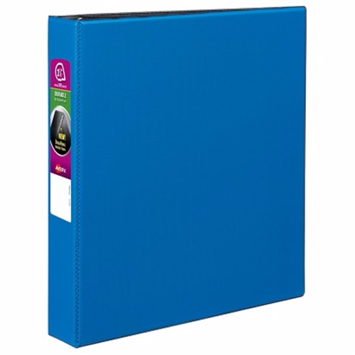 "Avery 1-1/2"" Navy Blue Durable Slant Ring Binders 12pk (AVE-27351) Image 1"