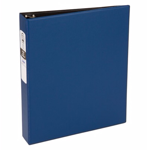 "Avery 1-1/2"" Blue Economy Round Ring Binders 12pk (AVE-03400) Image 1"