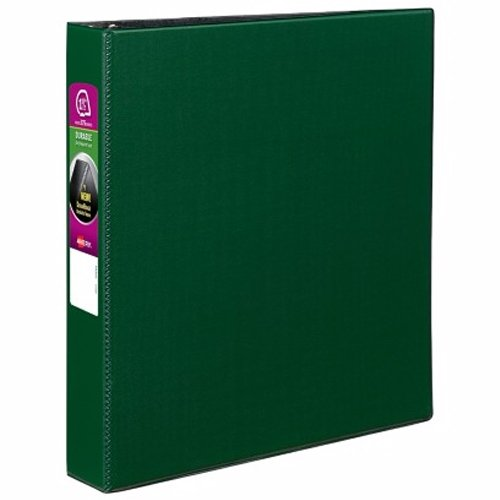 Green Avery Non View Binders Image 1