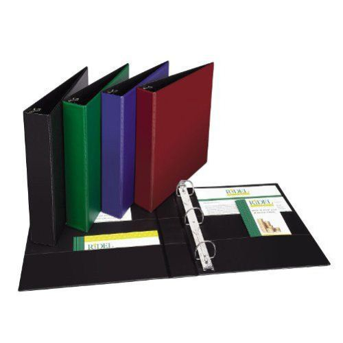 "Avery 1-1/2"" Assorted Durable Slant Ring Binders 12pk (AVE-11358) Image 1"