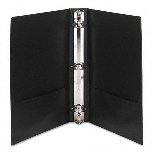 Black Avery View Binders Image 1