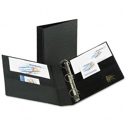 Heavy Duty 1 Black Binder Image 1