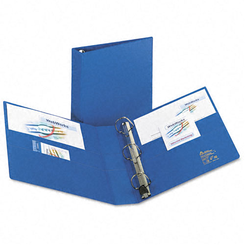 "Avery 1-1/2"" Blue One Touch Heavy Duty EZD Binders 12pk (AVE-79885) Image 1"