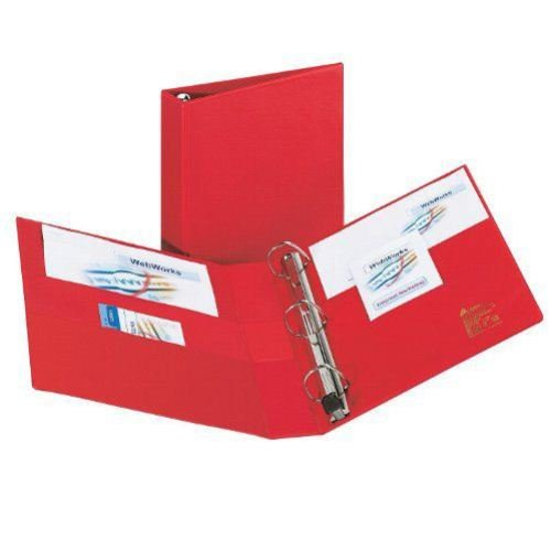"Avery 1-1/2"" Red One Touch Heavy Duty EZD Binders 12pk (AVE-79585) Image 1"