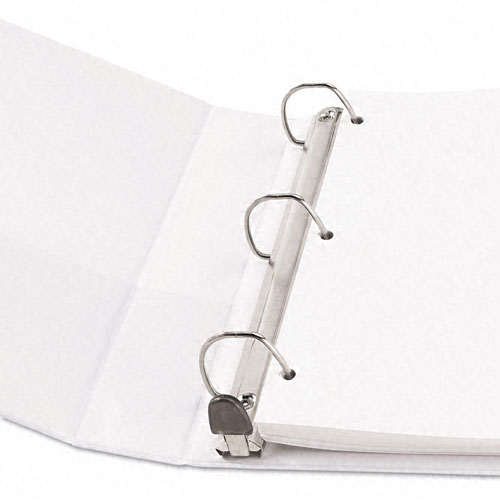 "Avery 1-1/2"" White Framed One Touch EZD Ring View Binders 12pk-68060 (AVE-68060) Image 1"