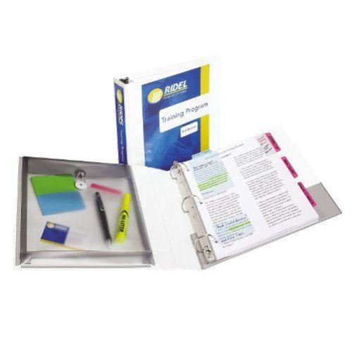 "Avery 1-1/2"" White Protect and Store View Binders 12pk (AVE-23001) Image 1"