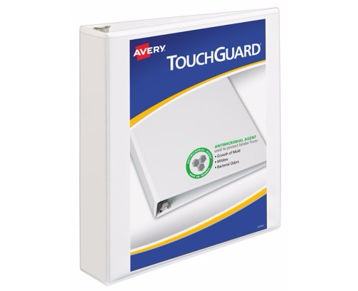 White Avery Touchguard Image 1