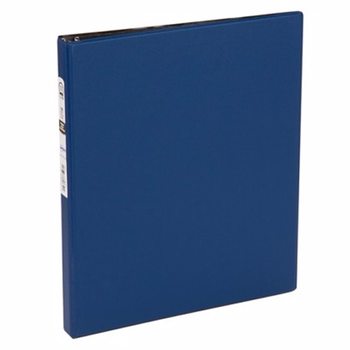 "Avery 1/2"" Blue Economy Round Ring Binders 12pk (AVE-03203) Image 1"