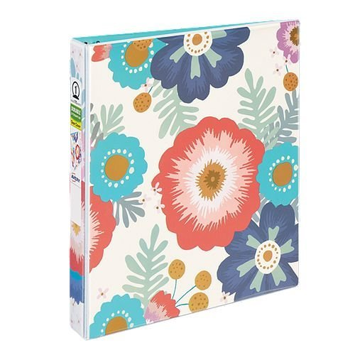 "Avery 1"" Big Floral Fashion Durable View Binders with Round Ring 6pk (AVE-26800) Image 1"