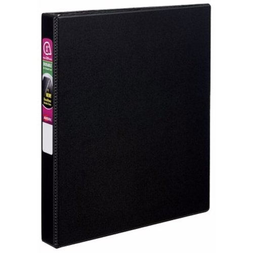 "Avery 1"" Black Durable Slant Ring Binders 12pk (AVE-27250) Image 1"