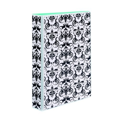 "Avery 1"" Chandelier Damask 5.5"" x 8.5"" Mini Durable Round Ring Binders 6pk (AVE-18445) Image 1"