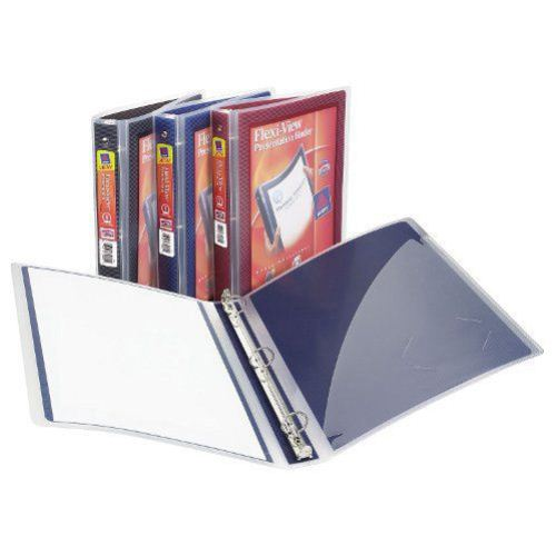 "Avery 1"" Assorted Color Flexi-View Binders 12pk (AVE-17688) Image 1"