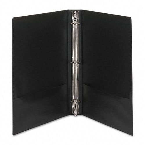 "Avery 1"" Black Economy Showcase View Binders 12pk (AVE-19600) Image 1"
