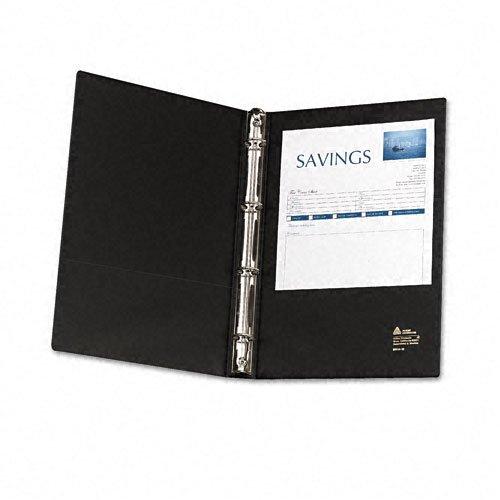 "Avery 1"" Black Legal Size Round Ring Binders 6pk (AVE-06100) Image 1"