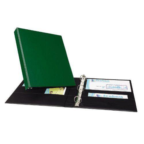 "New Avery 1"" Green Durable Slant Ring Binders (12pk"
