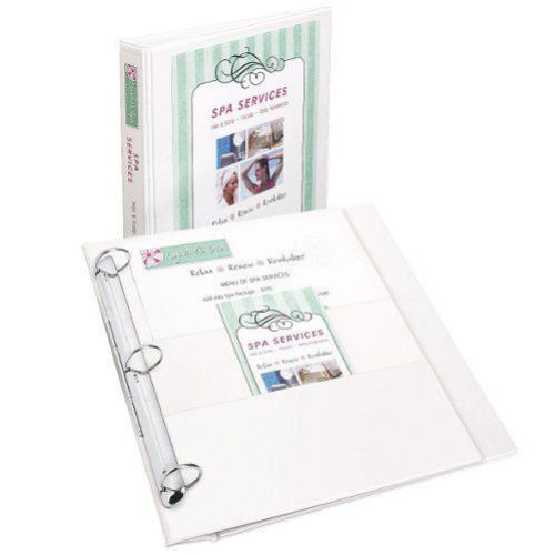 "Avery 1"" White Heavy Duty Flip Back 360 View Binders 12pk (AVE-17580) Image 1"