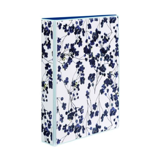"Avery 1"" Painted Floral 5.5"" x 8.5"" Mini Durable Round Ring Binders 6pk (AVE-18444) Image 1"