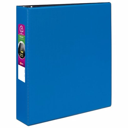 "Avery 2"" Navy Blue Durable Slant Ring Binders 12pk (AVE-27551) Image 1"