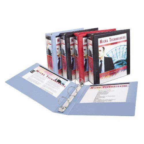 "Avery 2"" Assorted Show-Off Economy View Binders 12pk (AVE-12050) Image 1"