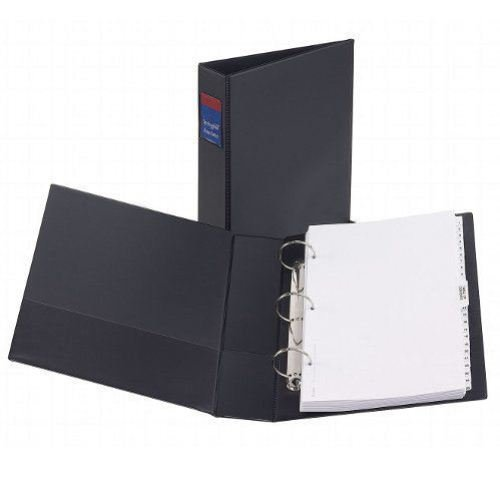 Black Avery Ring Binders Image 1
