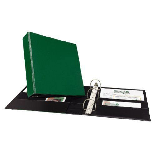 "Avery 2"" Green Durable Slant Ring Binders 12pk (AVE-27553) Image 1"