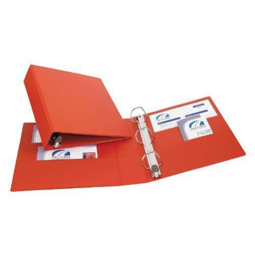 "Avery 2"" Red One Touch Heavy Duty EZD Binders 6pk (AVE-79582) Image 1"