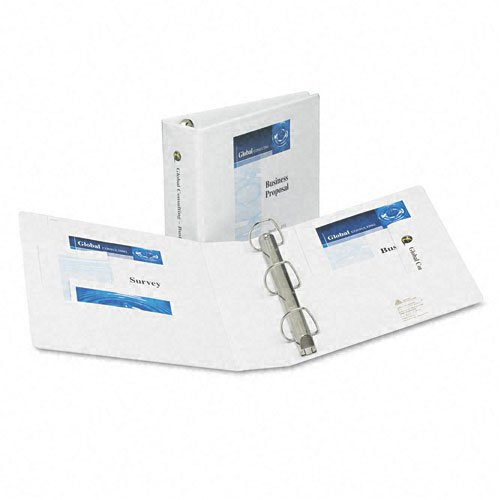 "Avery 2"" White Extra Wide Heavy Duty EZD View Binders 12pk (AVE-01320) Image 1"