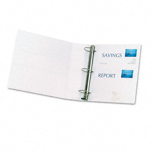 "Avery 2"" White One Touch Plain Package EZD View Binders 6pk (AVE-79192) Image 1"