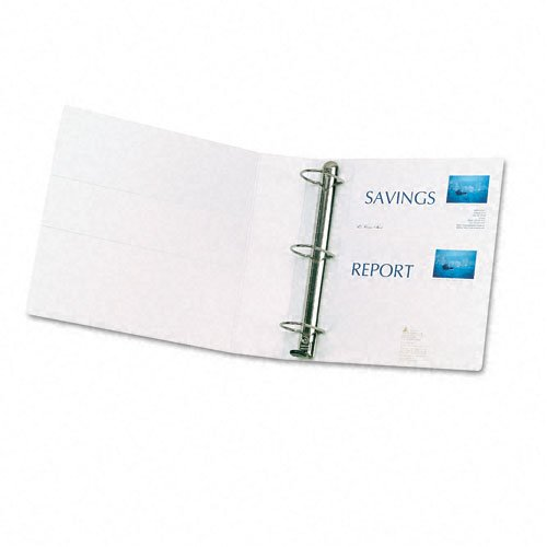 White Avery 2 Inch Binder Image 1