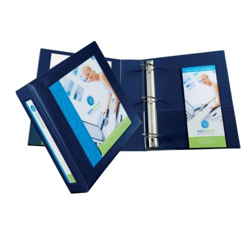 "Avery 2"" Navy Blue Framed View Heavy Duty Binders with One Touch EZD Ring 6pk (AVE-68033) Image 1"