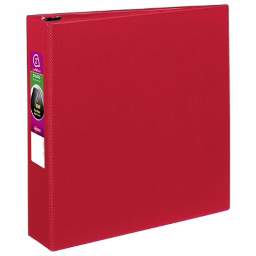 "Avery 2"" Red Durable Slant Ring Binders 12pk (AVE-27203) Image 1"