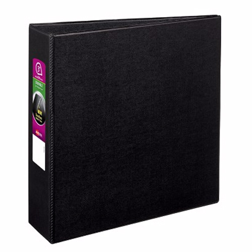 "Avery 3"" Black Durable EZD Ring Binders 6pk (AVE-07701) Image 1"